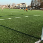 Erba sintetica per campi da calcio