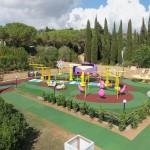Pavimentazioni antitrauma per area gioco
